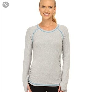 Lucy dashing stripe workout long sleeve shirt